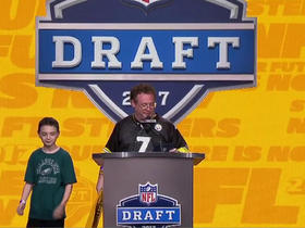 Watch: Steelers fans announce No. 248 pick