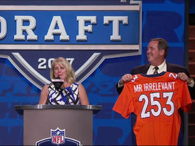 Watch: Mr. Irrelevant announced with No. 253 pick