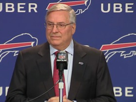 Watch: Pegula: 'There were some tears' after Whaley firing