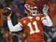 Watch: Schrager: Alex Smith earned being told about Mahomes, Glennon hasn't