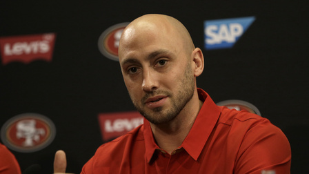 Kyle Shanahan: Brian Hoyer is going to be 49ers starting QB