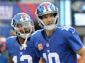 Watch: How should Eli Manning handle strong WR personalities?