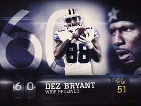 Watch: 'Top 100 Players of 2017': No. 60 Dez Bryant