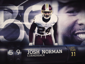 Watch: Top 100 Players of 2017': No. 59 Josh Norman