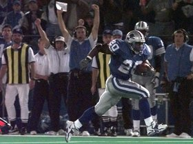 Watch: 'Top 10 End Zone Celebrations': Barry Sanders