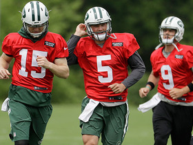Watch: Kim Jones: Jets' QB competition expected to run through training camp