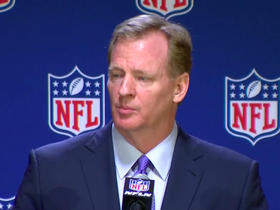 Watch: Goodell on celebration policy: Still want to hold players to standards