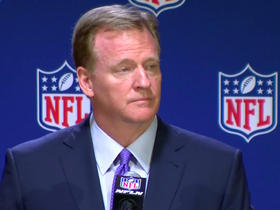 Watch: Goodell 'open to' speaking with Kap about being unsigned
