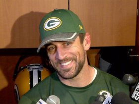 Watch: Rodgers excited to meet the new Packers