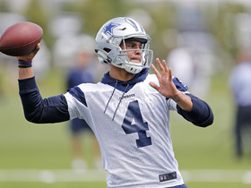 Watch: '4 Downs'- Dallas Cowboys: 2017 fantasy player to watch QB Prescott