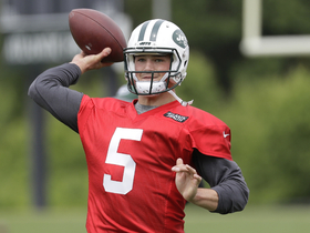 Watch: Nate Burleson: If Hackenberg plays above average he can win over Jets fans