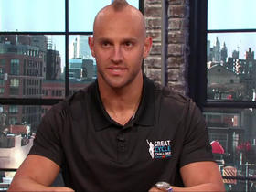 Watch: Mark Herzlich dishes on playing both linebacker and tight end