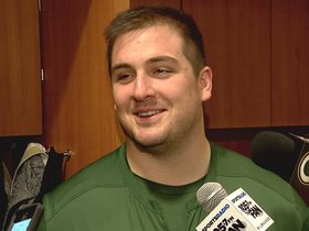 Watch: Linsley working to get back on the field