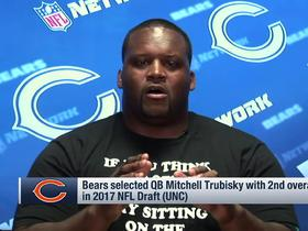 Watch: Spice Adams: Mitchell Trubisky is headed to good situation with Bears