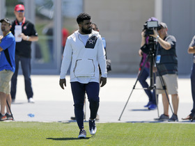 Watch: Nate Burleson: Cowboys aren't concerned Ezekiel Elliott is missing practices
