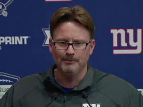 Watch: McAdoo: 'You want all your players here, especially the great ones'