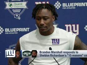Watch: Brandon Marshall: I'm not a perfect guy but I'm proud of where I am today