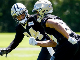 Watch: Payton's report on Saints' rookies: Veterans are looking after them