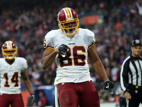 Watch: '4 Downs'- Washington Redskins: 2017 fantasy player to watch TE Jordan Reed