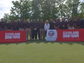 Watch: Browns give back at 18th Annual Golf Outing