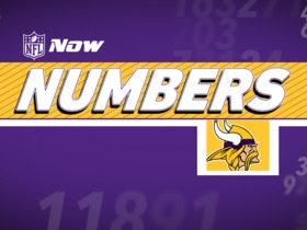 Watch: NFL NOW Numbers: Vikings Edition