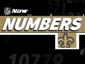 Watch: NFL Now Numbers: Saints Edition