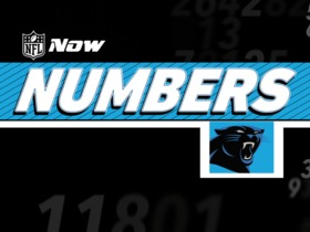 Watch: NFL Now Numbers: Panthers Edition