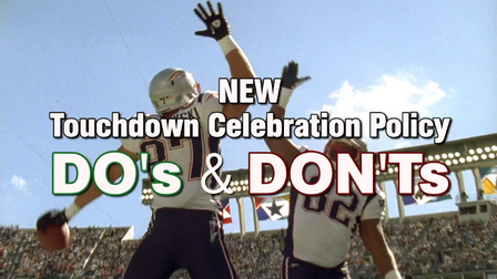 b1de007d16d3 Do s and don ts of the new touchdown celebration policy - NFL Videos