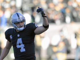 Watch: Derek Carr finalizes five-year contract extension with Raiders