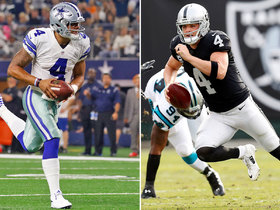 Watch: Who's more likely to win Super Bowl: Dak or Carr?
