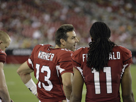 Watch: Every Kurt Warner touchdown pass to Fitz
