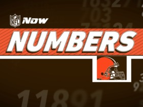 Watch: NFL NOW Numbers: Browns Edition