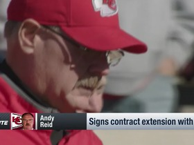 Watch: Chiefs extend Andy Reid and fire GM John Dorsey