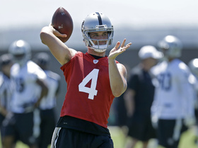 Watch: Shawne Merriman: Raiders are doing the right thing signing Derek Carr long term now