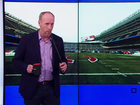 Watch: Matt Walsh and Kay Adams improvise a Bears game