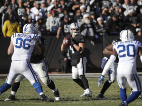 Watch: Derek Carr's timing and touch
