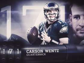Watch: Just missed 'Top 100': Carson Wentz