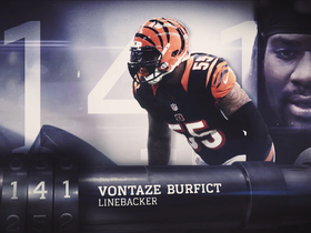 Watch: Just missed 'Top 100': Vontaze Burfict