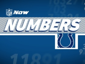 Watch: NFL NOW Numbers: Colts Edition