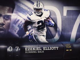 Watch: 'Top 100 Players of 2017': No. 7 Ezekiel Elliott