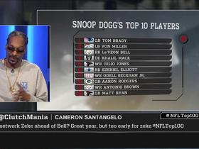 Watch: Snoop Dogg's top 10 players of 2017