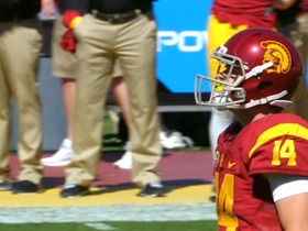 Watch: First Look: USC QB Sam Darnold