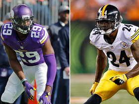 Watch: DDFP: Xavier Rhodes asks Ike Taylor for trash talking advice