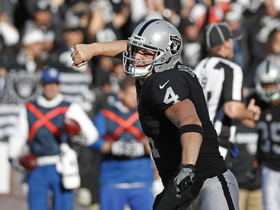 Watch: Carr: Raiders hope to 'bring home a ring' to Oakland