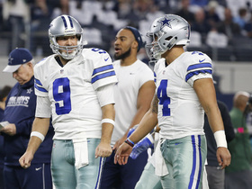 Watch: Dak Prescott: Tony Romo did a great job of being another coach for me and helping me out all season