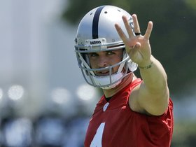 Watch: Raiders Offense Talks Coach Downing