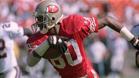 Let Jerry Rice Run You into the Weekend!