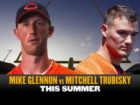 Watch: Most intriguing training camp battle- Mike Glennon vs Mitch Trubisky