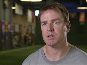 Watch: Carson Palmer discusses his preseason workouts