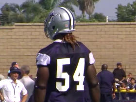 Watch: Progress report: Jaylon Smith's leg is better, but not 100%